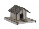 Noch 14346 - HO / OO Scales Laser Cut Minis - Duck House with Duck